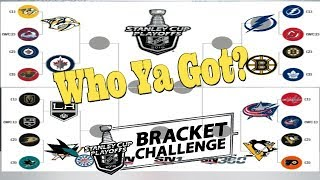 2018 Stanley Cup Predictions (Bracket Challenge)