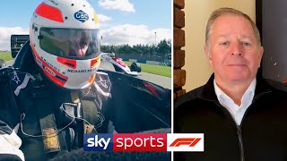Driving Ayrton Senna's cars and visiting Bernie Ecclestone! | At Home With Sky F1 | Martin Brundle