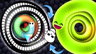 Slither.io Luckiest Snake Trap Escape Epic Slitherio Gameplay!