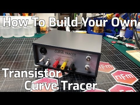 How To Build a Transistor Curve Tracer using the CH-012 kit - YouTube
