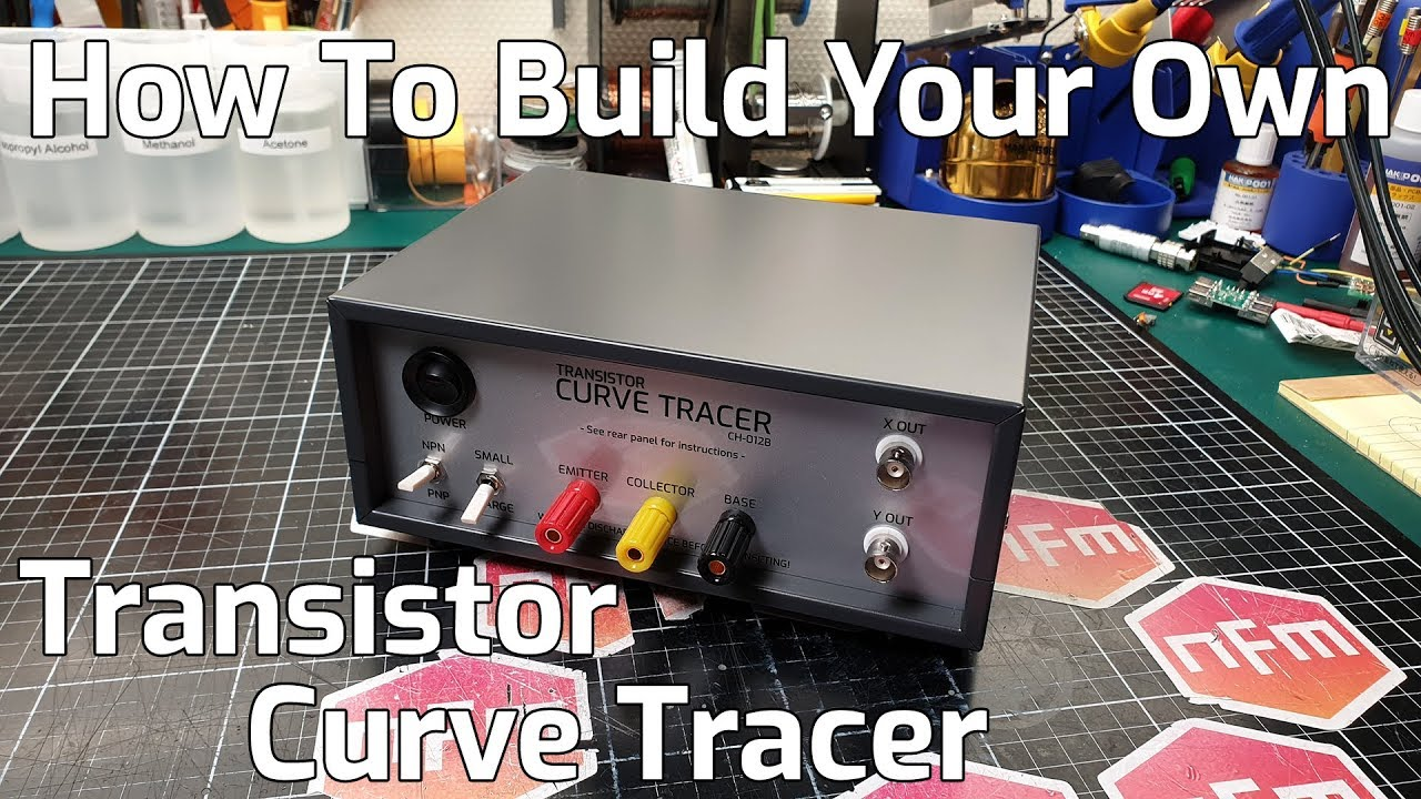 How To Build a Transistor Curve Tracer using the CH-012 kit