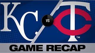 Gonzalez's clutch performance lifts Twins   Royals-Twins Game Highlights 9/20/19