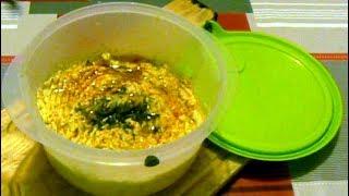Cuisine : préparation d'une purée de pois chiches / houmous