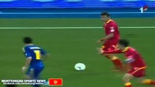 Ukraine vs Montenegro - Damjanović goal 0-1 (EUROPE: World Cup - Qualification 2012 ...RTCG)