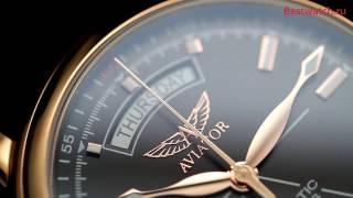 Обзор механических часов с автоподзаводом Aviator  V.3.20.2.146.4