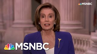 Pelosi Vows Oversight Of Relief Funds, Contradicting Trump | Rachel Maddow | MSNBC