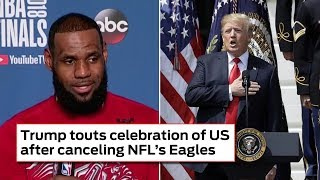 Lebron James Says Nobody Wants White House Invite (REACTION)