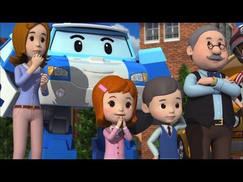 Робокар Поли - Правила дорожного движения - Викторина по безопасности на дороге (мультфильм 26)