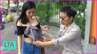 LTA - Biến ra áo ngực tặng Hot Girl | Magic appearing bra for sexy bae
