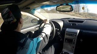 car vlog 44 g35 exhaust reveal uphill run