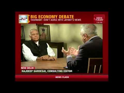 To The Point: Big Economy Debate With Ex-FM Yashwant Sinha