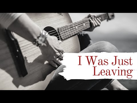 I Was Just Leaving - Ryan Montbleau (Cover) | Zac McIntosh
