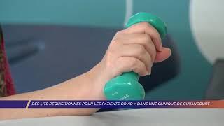 Yvelines | Des lits réquisitionnés pour les patients covid   dans une clinique de Guyancourt