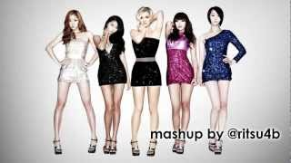Britney Spears feat. Sistar - 3 Cool (Mashup Extended Version)