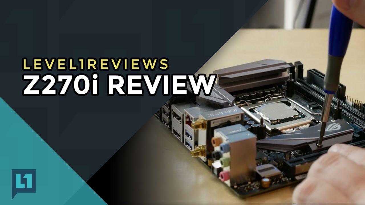 Asus Strix Z270i Motherboard Review + Linux Test