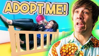 SWITCHING PLACES AGAIN? | Adopt Me! | ROBLOX ROLEPLAY #12