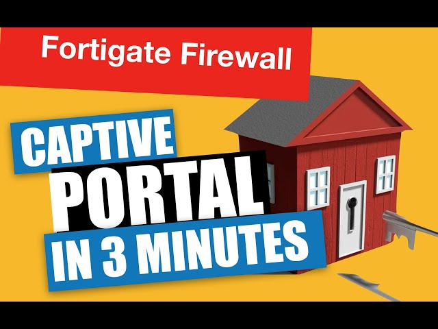Captive Portal - 3 minutes and you're done