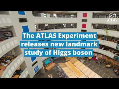 The ATLAS Experiment releases new landmark study of Higgs boson