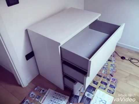 rinnovo cassettiera - youtube - Rinnovare Cassettiera Malm