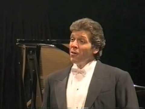 "Thomas Hampson sings Schubert's ""Der Lindenbaum"""