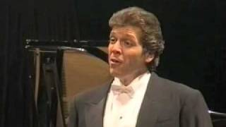 Thomas Hampson sings Schubert