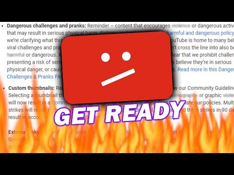 YouTube Is About To Become MUCH More STRICT