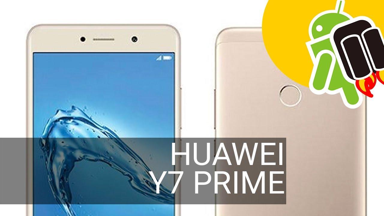 huawei y7 prime. huawei y7 prime: características, precio. prime