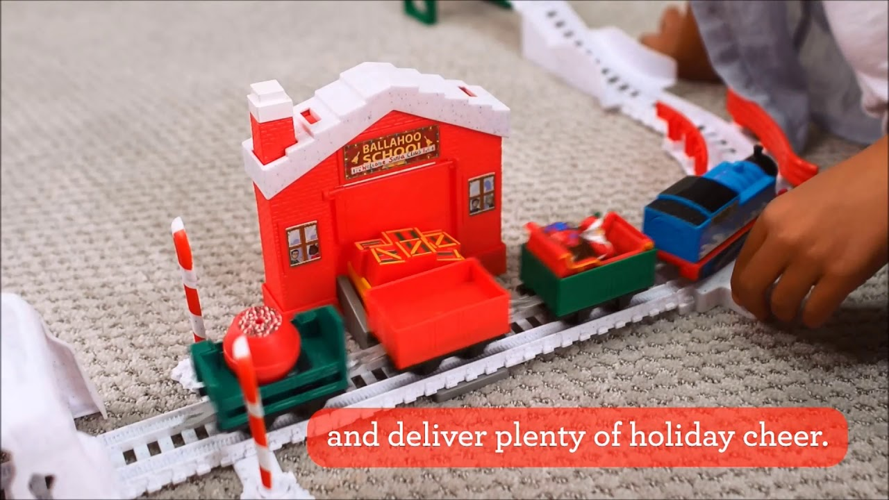 watch 49557 15060 Smyths Toys - Thomas & Friends TrackMaster Holiday Cargo Delivery Set