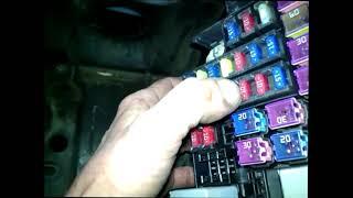 Chevrolet Lacetti -  Не работает подсветка доски,правый габарит, и задние противотуманные фары