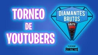 🔵 DIRECTO 🔵 JUGAMOS EL TORNEO DIAMANTES BRUTOS de Lolito! - Luzu #Torneo LOLiTO  #Diamantesbrutos