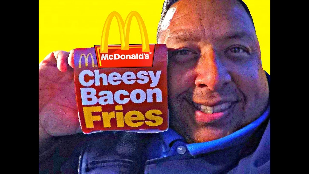 Mcdonalds New Ooey Gooey Cheesy Bacon Fries Review Cc