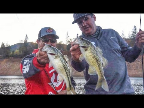 Shasta Lake bass fishing, featuring Greg Gutierrez