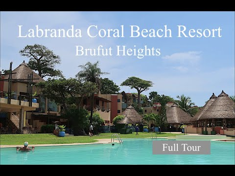 (FULL TOUR) Labranda Coral Beach Resort / Brufut Heights, The Gambia: with THE DEE'S