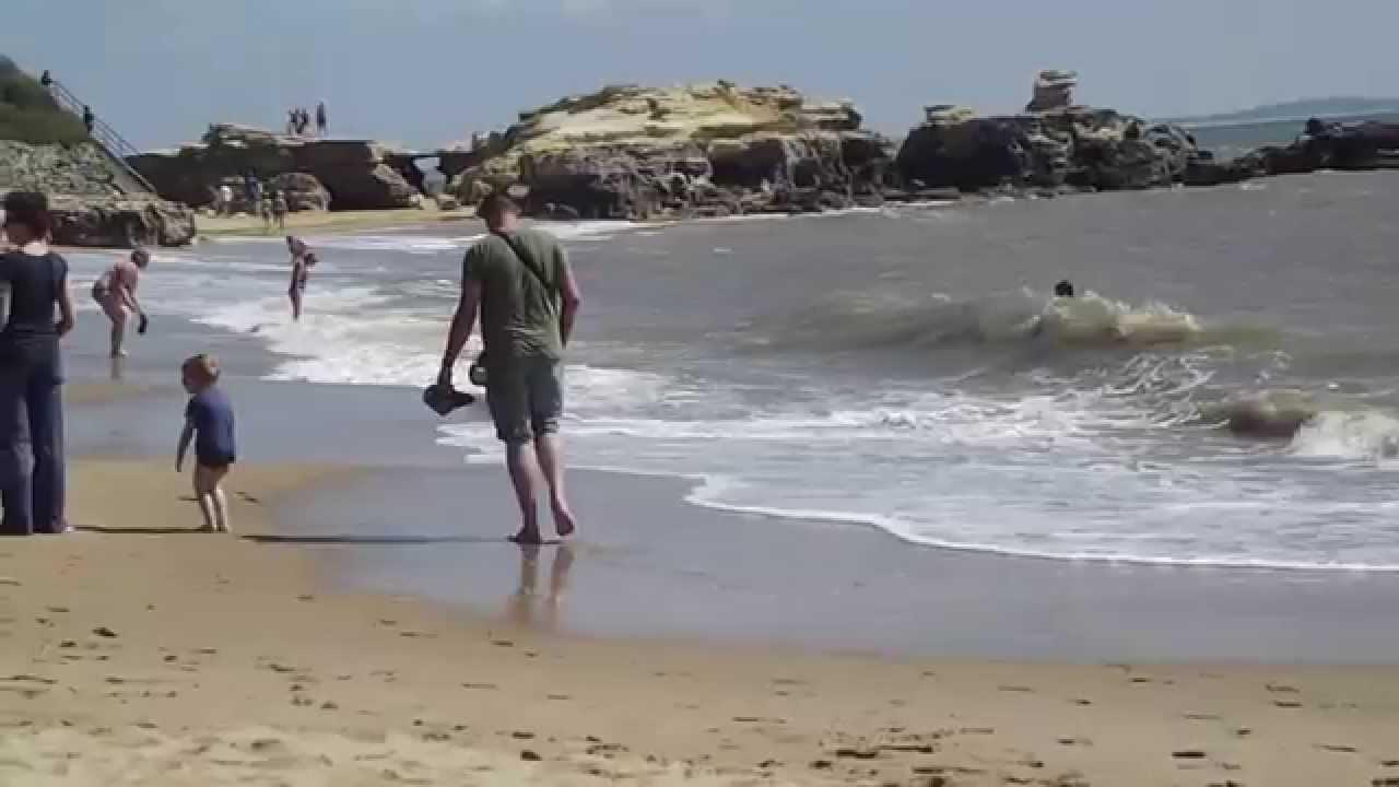 Saint palais sur mer la plage du platin youtube - Office du tourisme saint palais sur mer ...