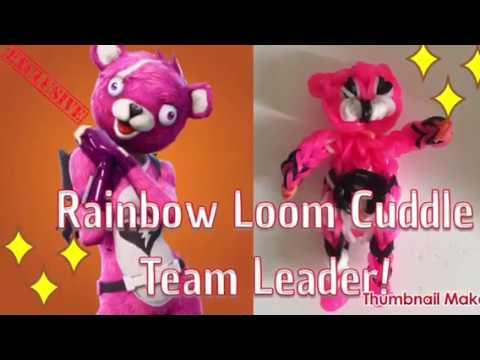 Rainbow Loom Fortnite Cuddle Team Leader Skin   Mint Manatee