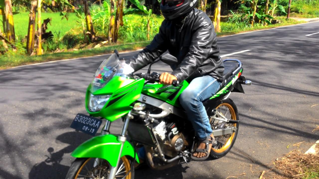 Test drive kawasaki Ninja R 150 cc 2 tak - YouTube