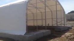 Heavy Duty, Wind & Snow Proof Storage Building Tent