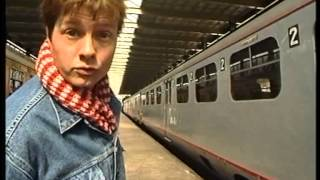Klokhuis uitzending over treinen