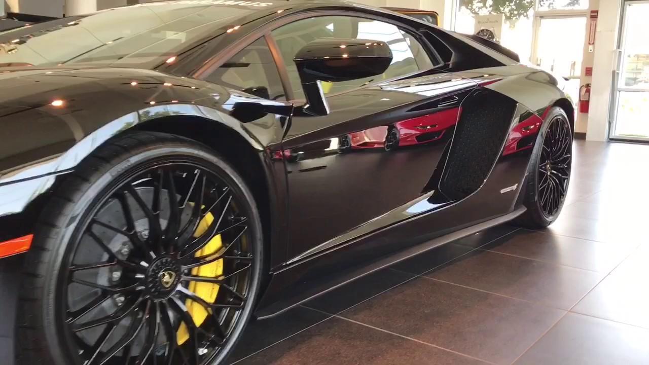 Lamborghini Paramus Aventador S Youtube