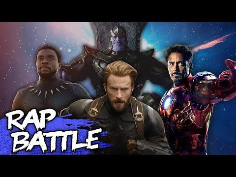 Avengers: Infinity War Rap Battle  NerdOut ft DaddyPhatSnaps Dan Bull JT  & More