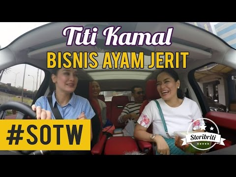Selebriti On The Way - Luna Maya & Titi Kamal #1 : Cerita bisnis Ayam Jerit