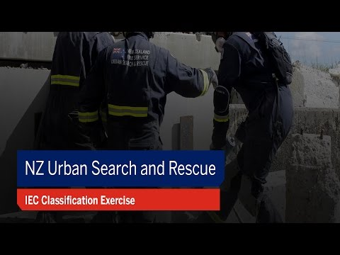 NZ Urban Search and Rescue IEC Exercise