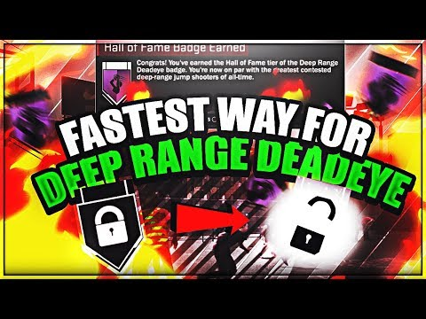 How To Get Deep Range Deadeye The Fastest Way In Nba 2k18