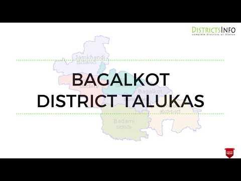 taluks in Bagalkot District of Karnataka State