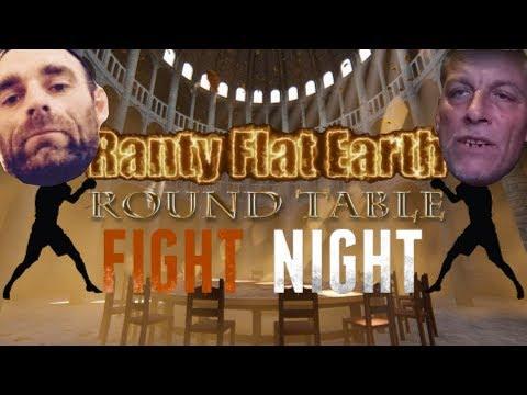Flat Earth Fight Night, 10k Subcriber Glober Vs Brians Logic Flat earther thumbnail