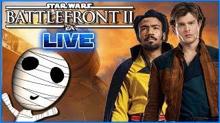 Frisch aus dem Solo Film! [keine Spoiler] // Star Wars: Battlefront II // PS4 Livestream