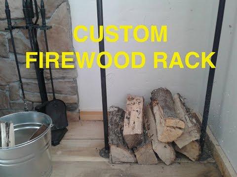 CUSTOM FIREWOOD RACK: EASY AND CHEAP