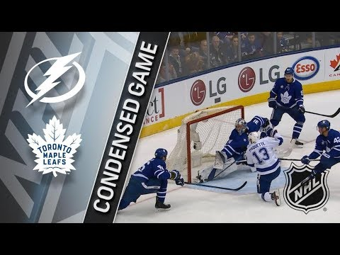 Tampa Bay Lightning vs Toronto Maple Leafs – Jan. 02, 2018 | Game Highlights | NHL 2017/18. Обзор