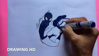 #Howtodraw #Colouring #Drawing ANGRY SPIDER MAN HOME COMING