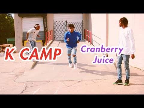 K CAMP - CRANBERRY JUICE (Official NRG Video)